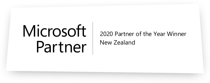 2020 Microsoft Partner of the Year Winner!